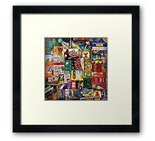 Bang! Framed Print