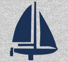 Sailing boat One Piece - Long Sleeve
