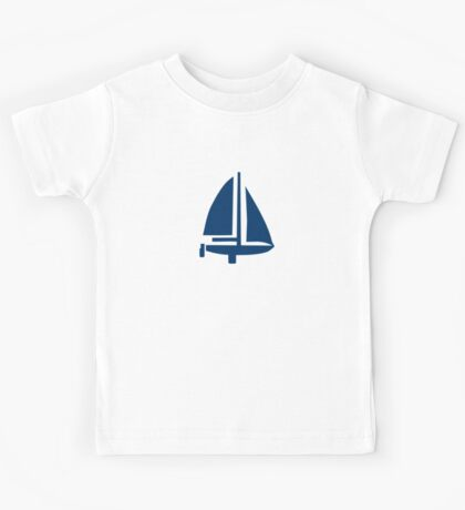 Sailing boat Kids Tee