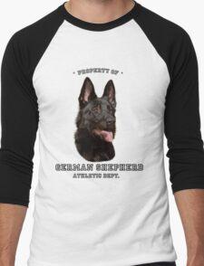 German Shepherd Athletic Dept. Men's Baseball ¾ T-Shirt