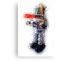 Robbie the Robot Canvas Print