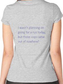 Running Women's Fitted Scoop T-Shirt