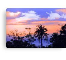 tropical 7 Canvas Print