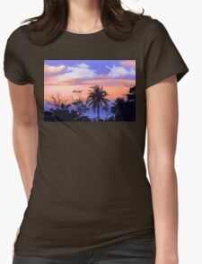 tropical 7 Womens Fitted T-Shirt