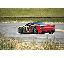 F458 Ferrari Italia II Photographic Print
