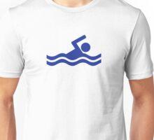 Swimming swimmer Unisex T-Shirt