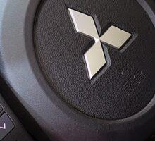 Mitsubishi Lancer Evolution X Wheel [ Print & iPad / iPod / iPhone Case ] Sticker