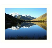 Colorado Mountain Mirror Lake Art Print