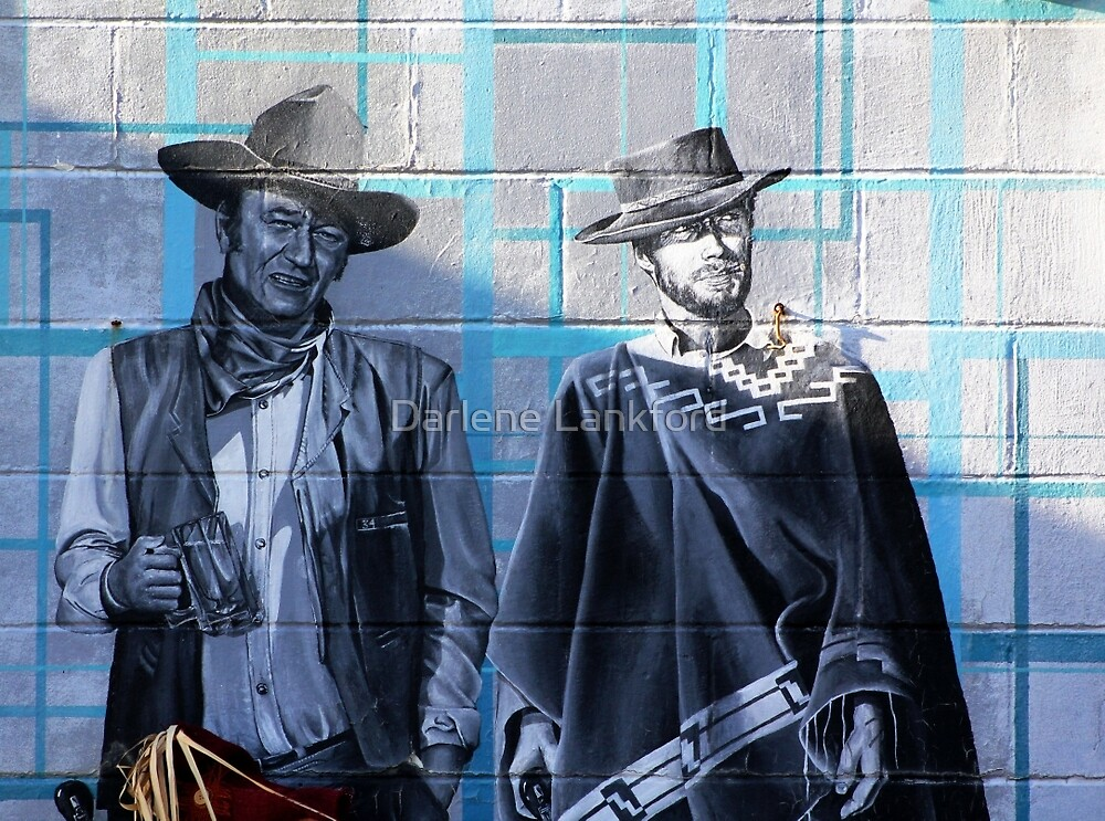 The Duke & Clint by Darlene Lankford Honeycutt