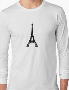 Eiffel Tower Paris Long Sleeve T-Shirt