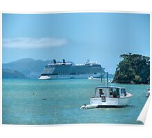 ' Celebrity Solstice ' at the Bay of Islands.....! Poster