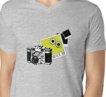 SHOOT ME Mens V-Neck T-Shirt
