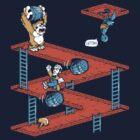 Escher Kong by Nathan Davis