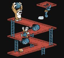 Escher Kong Kids Tee