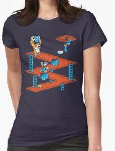 Escher Kong Womens Fitted T-Shirt