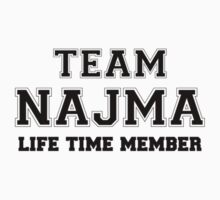 Team NAJMA, life time member Kids Clothes