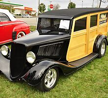 1930's Ford Woody Wagon by BLAKSTEEL