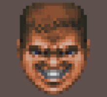 Doomguy - Grin by vidyagames