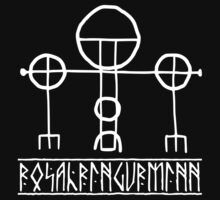 rosahringurminn icelandic symbol of protection  by potty