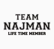 Team NAJMAN, life time member Kids Clothes