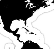 The Western Hemisphere Sticker