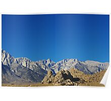 Mt Whitney, highest summit in the lower 48 Poster