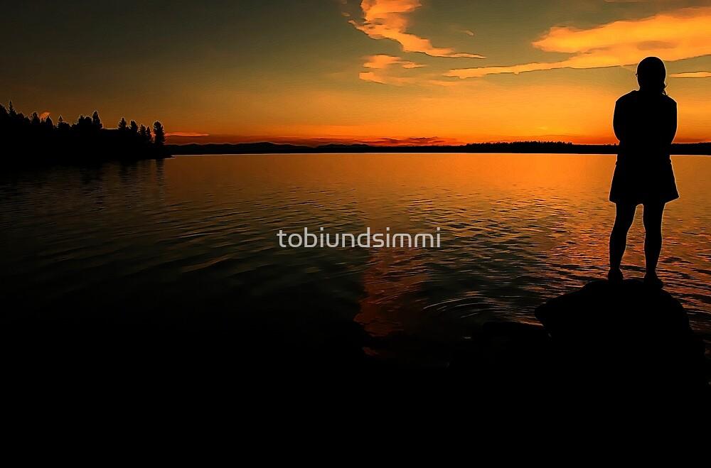 100 Mile Lake by tobiundsimmi