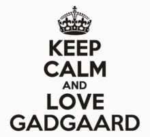 Keep Calm and Love GADGAARD Kids Clothes