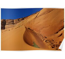 Dune near Peek-A-Boo Slot Canyon, Utah Poster