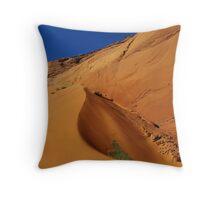 Dune near Peek-A-Boo Slot Canyon, Utah Throw Pillow