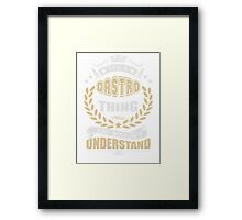 CASTRO THING T SHIRTS Framed Print
