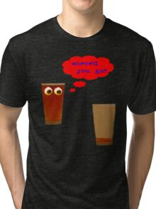 2 pints of beer Tri-blend T-Shirt