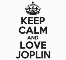 Keep Calm and Love JOPLIN Kids Clothes