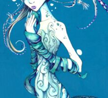 Mysterious Mermaid Sticker