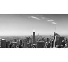 New York City - Empire State Building Panorama - 2015 Edition Photographic Print