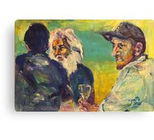 A drink with Vincent Canvas Print