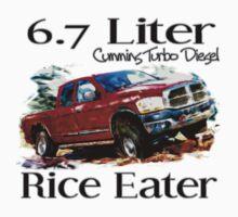 6.7 Liter Cummins by Truck Tee's