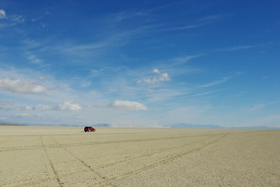 Black Rock Desert Playa, wide open by Claudio Del Luongo
