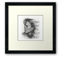 Bad Blood Framed Print