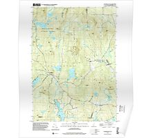 USGS TOPO Map New Hampshire NH Washington 329845 1998 24000 Poster
