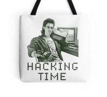 Hackerman hacking time Tote Bag
