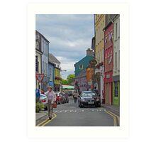 Kinsale - streetscape Art Print