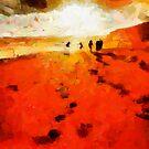 Summer Fire by DiNovici