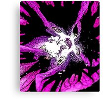 PURPLE ABSTRACT 3 Canvas Print