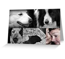 Memories in pictures Greeting Card