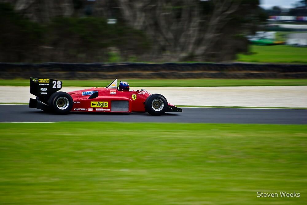 1985 F1 Ferrari 156/85 by Steven Weeks