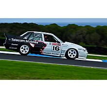 Gary Collins - 1990 Holden VL Commodore Group A SS SV Photographic Print