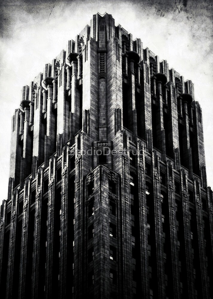 The Dark Tower - The Shell Building in San Francisco by StudioDestruct