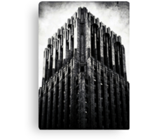 The Dark Tower - The Shell Building in San Francisco Canvas Print