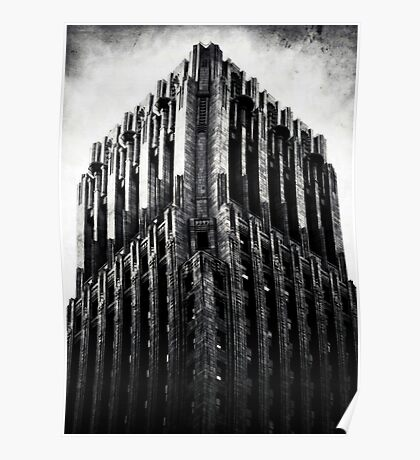 The Dark Tower - The Shell Building in San Francisco Poster